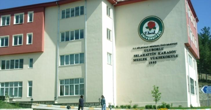 Uluborlu / Selahattin Karasoy Meslek Yüksek Okulu -2017