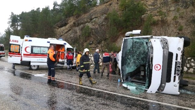 sdü otobüs kazası
